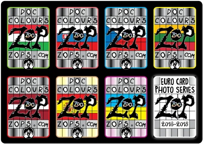 ZOPS ZOO EURO CARDS